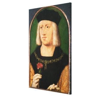 Emperor Maximilian I, c.1508-09 Canvas Print