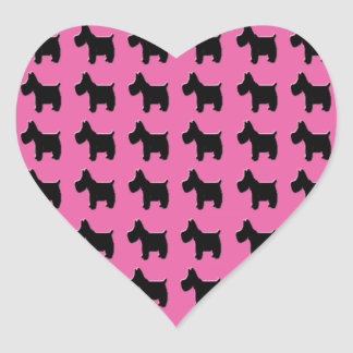 Empowerment Scotties Heart Stickers