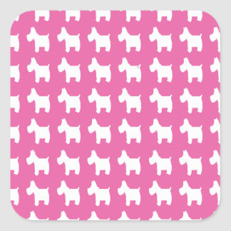 Empowerment (Westies) Square Sticker