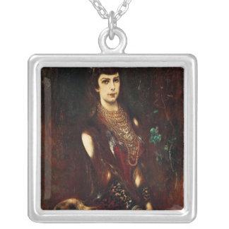 Empress Elizabeth of Austria, 1883 Silver Plated Necklace