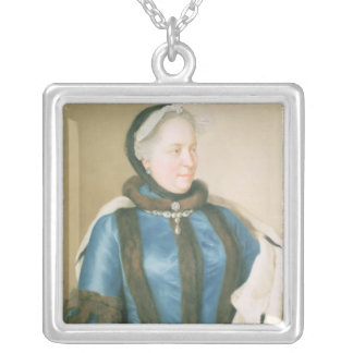 Empress Maria Theresa of Austria , c.1770 Silver Plated Necklace