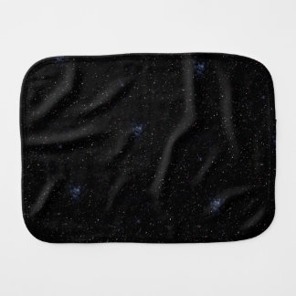 EMPTY SPACE (an outer space design) ~ Burp Cloth