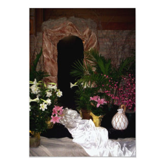 Empty Tomb of Easter 13 Cm X 18 Cm Invitation Card