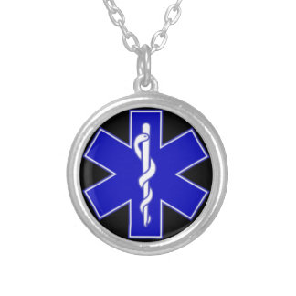 EMS necklace! Silver Plated Necklace