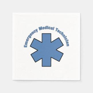 EMT Emergency Med Tech Disposable Serviettes
