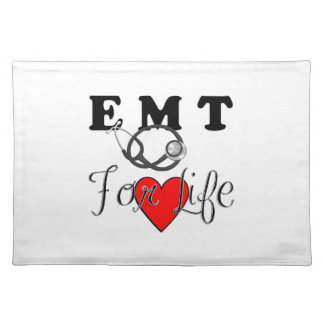 EMT For Life Placemat