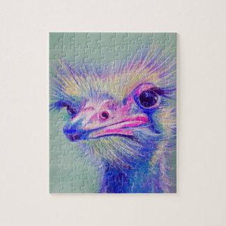Emu bird jigsaw puzzle