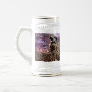 Emu Courtship, Beer Stein