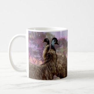 Emu_Dreaming,_White_Coffee_Mug Coffee Mug