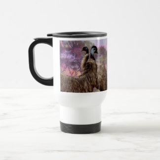 Emu_Dreaming,_White_Commuter_Travel_Coffee_Mug Travel Mug