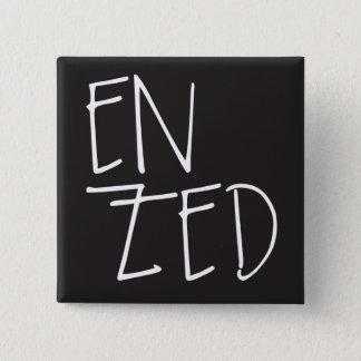 """En Zed"" New Zealand 15 Cm Square Badge"
