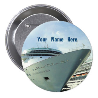 Enchanted Bow Personalized 7.5 Cm Round Badge