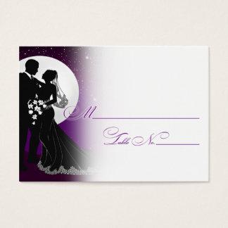 Enchanted Evening Nighttime Wedding Placecard