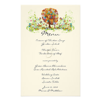 Enchanted Forest Side Branch Wedding Stationery