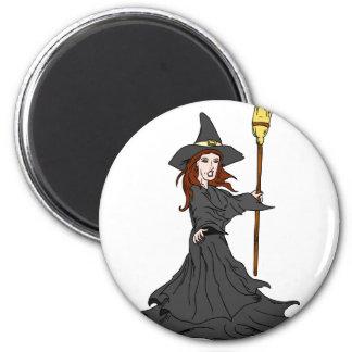 Enchanting Witch Fridge Magnets