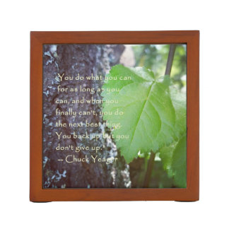 Encouragement Nature Themed Desk Organizer