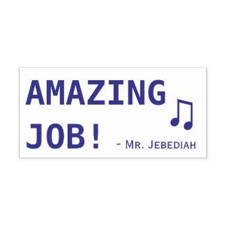 "Encouraging ""AMAZING JOB!"" Marking Rubber Stamp"