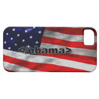 End Obama Code Black on White Barely There iPhone 5 Case