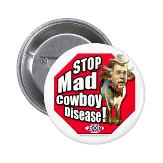 End of an Error Stop Mad Cowboy Pins