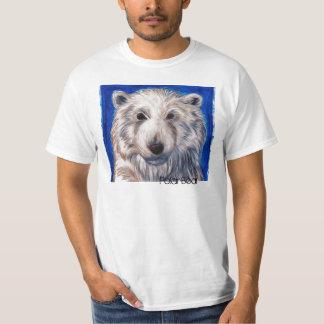 Endangered Species Awareness Tees--Polar Bear T-Shirt