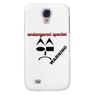 Endangered Species - Warning Galaxy S4 Case