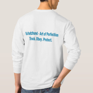 Endeavor Schutzhund Club Logo Long Sleeve Shirt