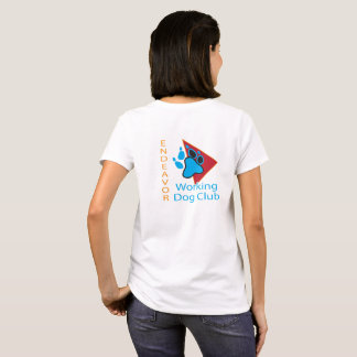 Endeavor Working Dog Club Logo Short Sleeve Shirt
