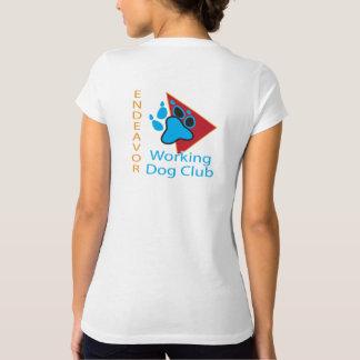 Endeavor Working Dog Club Logo V-neck shirt
