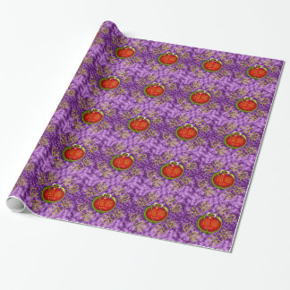 Endo Monogram Dragon Wrapping Paper