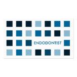 ENDODONTIST (mod squares) Pack Of Standard Business Cards