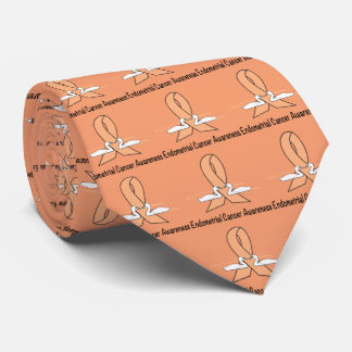 Endometrial Cancer Awareness with Swans Tie