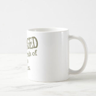 Engaged In All Types Of Mindless Activities Basic White Mug