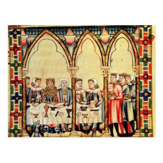 Engagement Banquet, from the manuscript Postcard