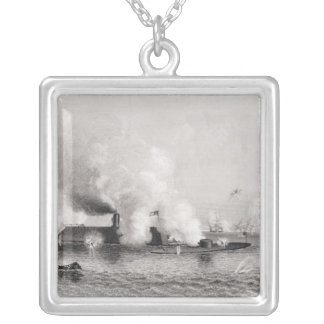 Engagement between Monitor' and the Silver Plated Necklace