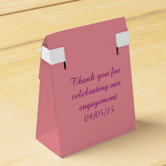 Engagement Party Gift Box Favour Boxes