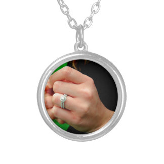 Engagement ring with Daisy Necklaces