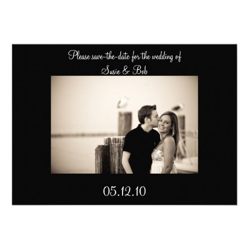 engagement, save-the-date announcement