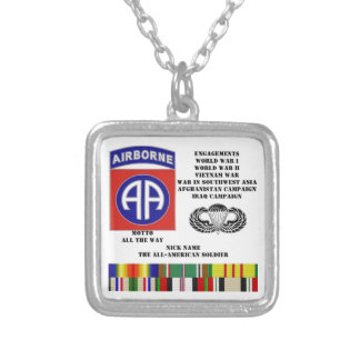 Engagements of the 82nd airborne division pendant