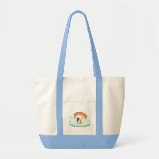 Engel und Hund Impulse Tote Bag