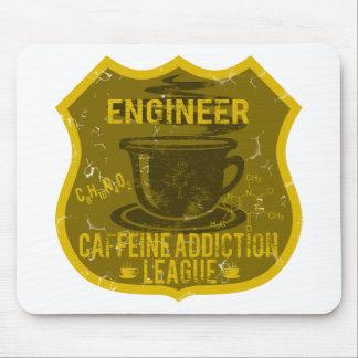 Engineer Caffeine Addiction League Mouse Pad