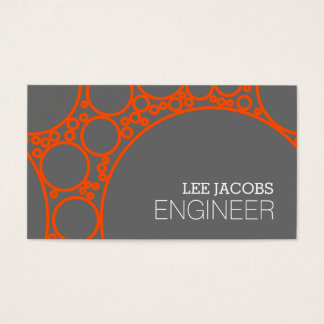 Engineer, Engineering, Architect, Builder Business Business Card