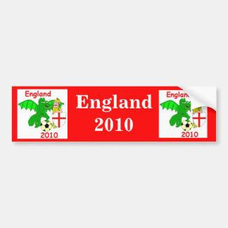 England 2010 bumper sticker