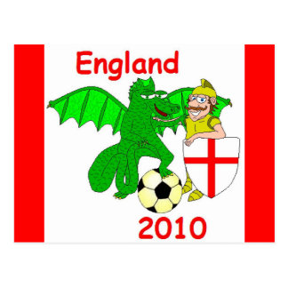 England 2010 postcards