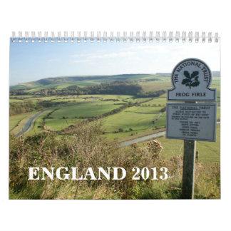 England 2013 Calendar