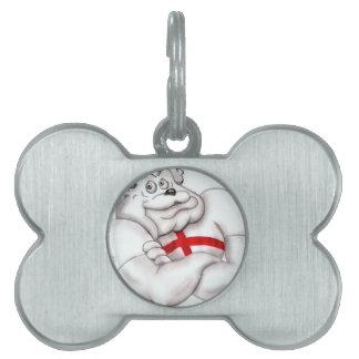England Bulldog Pet ID Tags