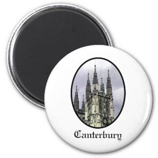 England Canterbury Church Spirals Black o The MUSE Refrigerator Magnet