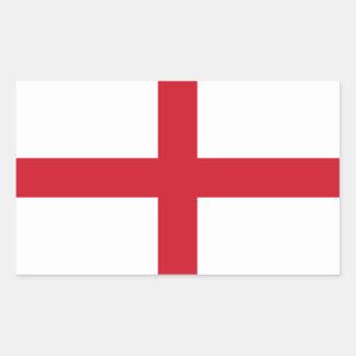 England/English Flag - United Kingdom Rectangular Sticker