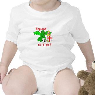 England till I die !! Tee Shirts