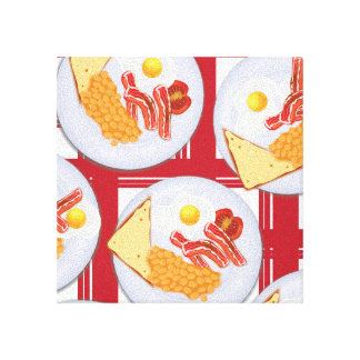 English Breakfast Canvas Print