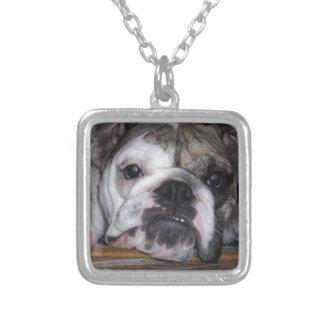 English Bulldog Puppy Custom Necklace